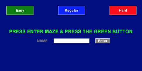 LazerMaze TouchScreen